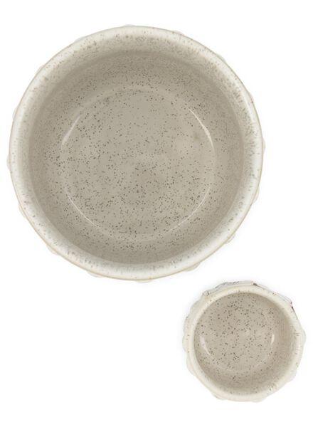 pot de fleurs Ø 13 cm - céramique - blanc - 13392082 - HEMA