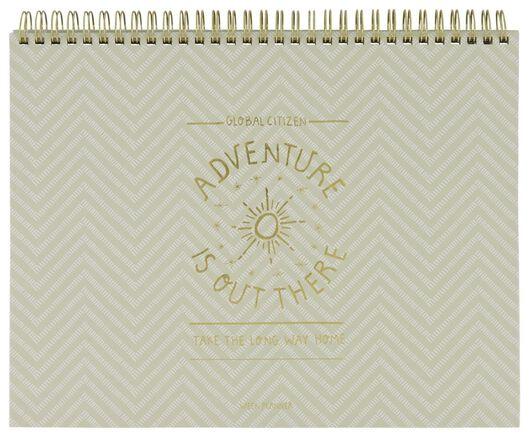 weekly planner spiral A4 adventure - 14500553 - hema