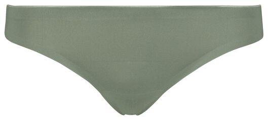women's thong second skin micro green green - 1000018628 - hema