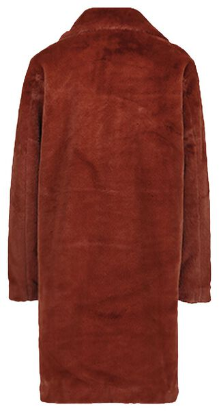 Damen-Jacke, Webpelz braun L - 36269621 - HEMA