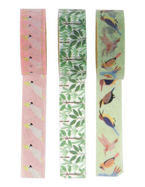 3 washi tapes animals - 14590216 - hema