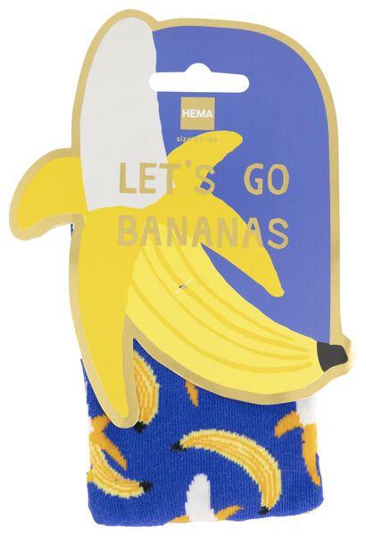 sokken maat 42-46 bananen - 61140080 - HEMA