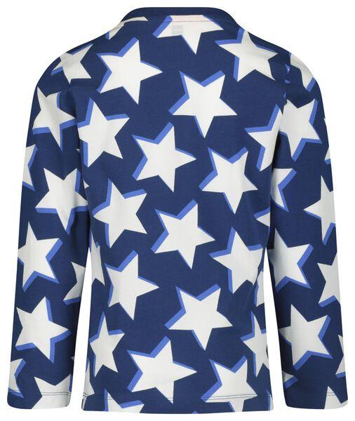 Kinder-Pyjama Sterne blau blau - 1000018470 - HEMA