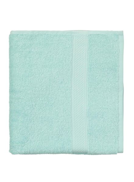 towel - 70 x 140 cm - heavy quality - mint green plain mint green towel 70 x 140 - 5240004 - hema