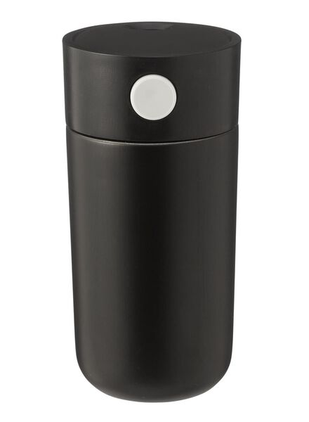 coffee to go bottle - stainless steel - 250ml - black - 80630165 - hema