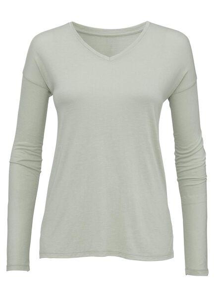women's T-shirt light green light green - 1000005576 - hema