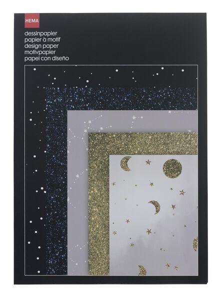 25er-Pack Musterpapier - 14133374 - HEMA