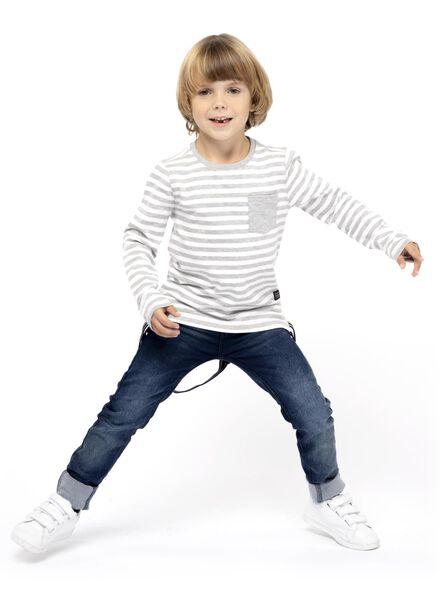Kinder-Pullover graumeliert graumeliert - 1000017046 - HEMA