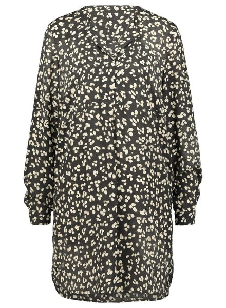 Damen-Bluse eierschalenfarben eierschalenfarben - 1000016833 - HEMA