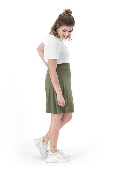 Damen-T-Shirt weiß weiß - 1000019286 - HEMA