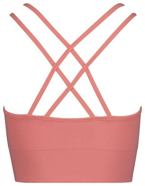 women's sports bra medium-impact sports pink pink - 1000018882 - hema