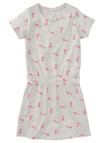 children's dress light grey light grey - 1000006889 - hema