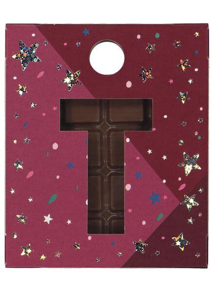 lettres en chocolat à suspendre de A à Z du lait du lait - 1000017573 - HEMA