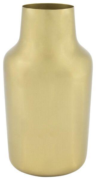 HEMA Metallvase, 22 X Ø Cm, Golden