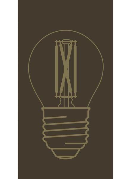 LED-Lampe, 3,5W, 200Lumen, Kugel, gold - 20020081 - HEMA
