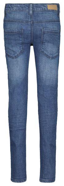 children's jeans skinny dark blue dark blue - 1000020324 - hema