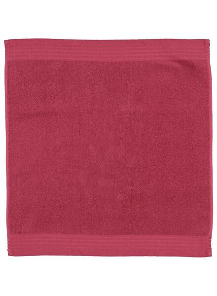 essuie-mains 50x50 vieux rose - 5400123 - HEMA
