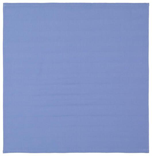 torchon - 65 x 65 - coton - bleu - 5490028 - HEMA