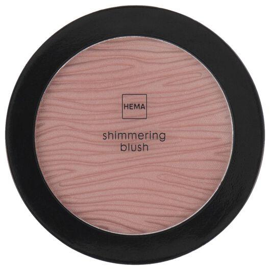 shimmering blush 38 heart breaker rouge - 11290138 - hema