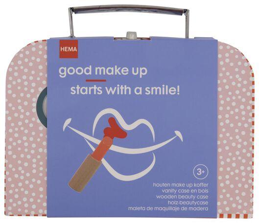 make-up koffer hout 7x9x14 - 15130091 - HEMA