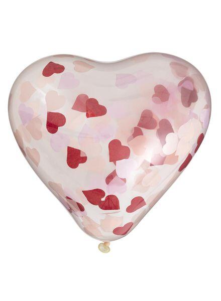 6 ballons confetti - 60800550 - HEMA