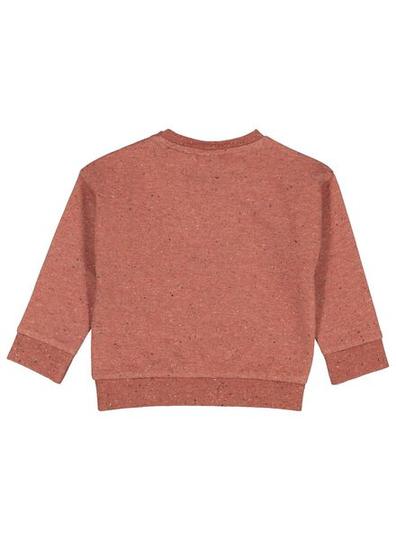 baby sweater fox dark red dark red - 1000017396 - hema