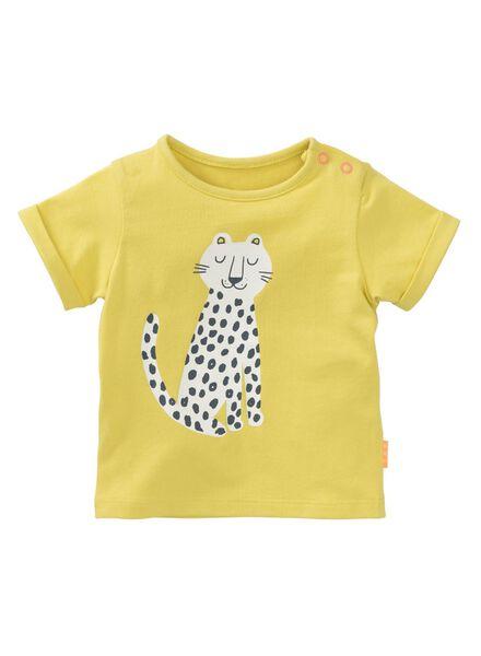 baby T-shirt yellow yellow - 1000007678 - hema