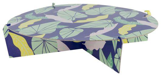présentoir 1niveau Ø30cm feuilles - 14200404 - HEMA