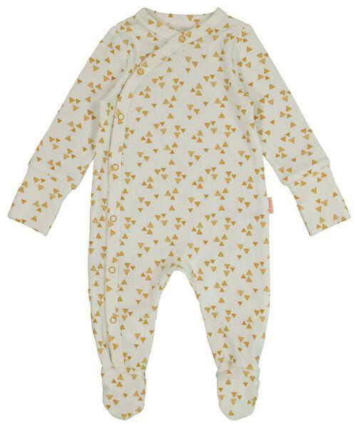 newborn jumpsuit with bamboo white white - 1000017634 - hema