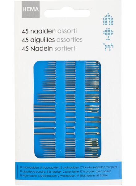 45 Nadeln, sortiert - 1472095 - HEMA