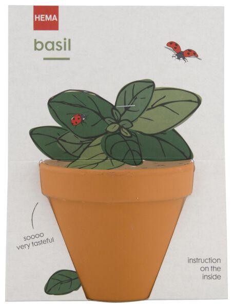 Image of HEMA Basil In Pot Ø9cm