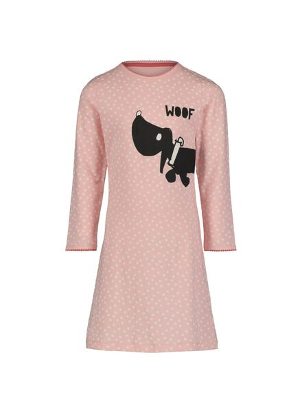 children's nightshirt Jip and Janneke & doll's nightshirt light pink light pink - 1000014951 - hema