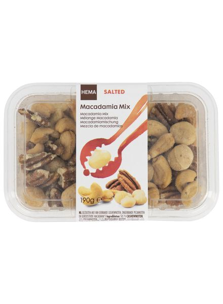 macadamia nut mix salted - 10673018 - hema