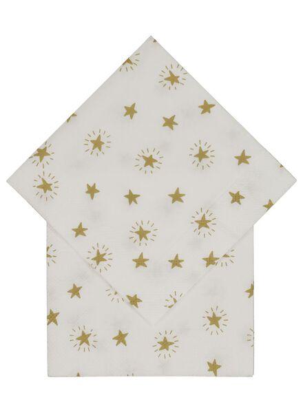 20 serviettes 24 x 24 - 25600140 - hema