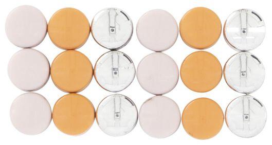 mini magneten - 18 stuks - 14430051 - HEMA