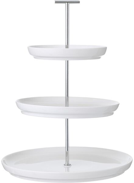 whatnot 3 layers - 33 cm high - Dublin white - 9602245 - hema