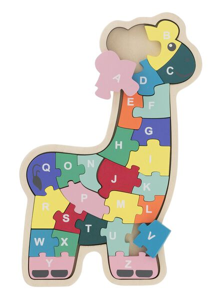 puzzle en bois alphabet - 15122225 - HEMA