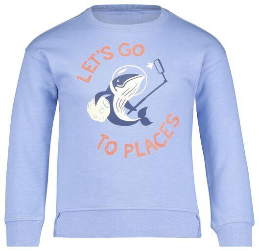 children's sweater light blue light blue - 1000017731 - hema