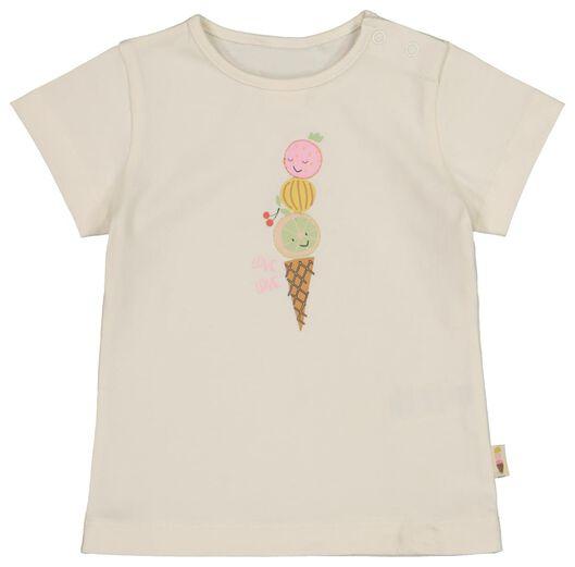 baby T-shirt ice cream cone off-white off-white - 1000017781 - hema