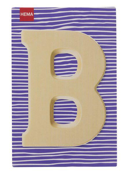 white chocolate letter B - 10037001 - hema