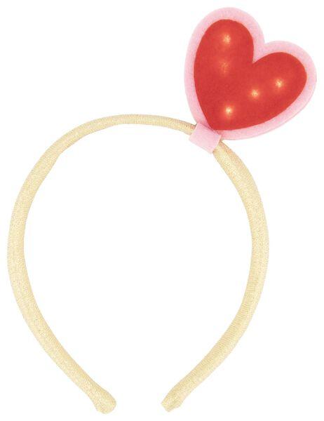 serre-tête cœur avec petites lumières Saint-Valentin - 60800824 - HEMA