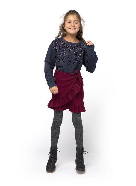 Kinder-Rock dunkelrot dunkelrot - 1000016560 - HEMA