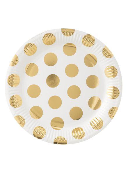 8 assiettes en papier - 14230075 - HEMA