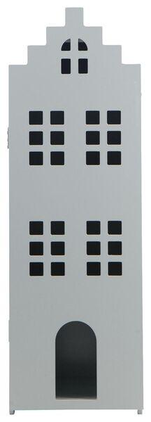 grachtenpand 24.5x25x75 hout groen - 15130038 - HEMA
