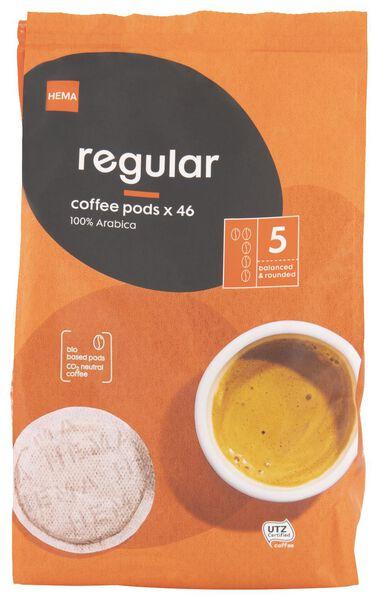 46 dosettes de café regular - 17150001 - HEMA