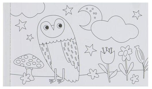 album à colorier forêt 10x16.5 - 15910145 - HEMA