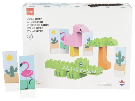 jeu de construction bio safari - 15120044 - HEMA