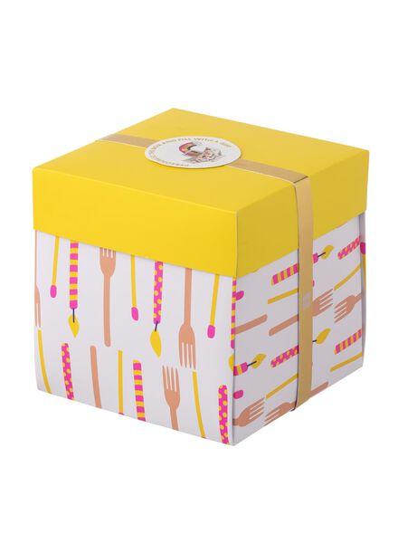 Überraschungs-Schachtel, groß, 15 x 15 x 15 cm - 60800613 - HEMA