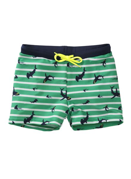 children's swimming briefs green green - 1000006864 - hema