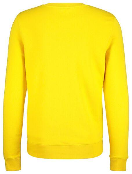 men's sweater yellow yellow - 1000017629 - hema